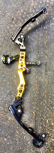 Conquest APEX Compound Bow - Mathews.  Blk & yellow - Right Hand Cambridge Kitchener Area image 4