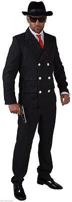 Gangster Anzug Kostüm Mafia 20 er 30 er Jahre Al Capone Ganove Gangsteranzug