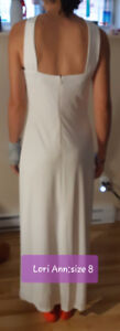 Wedding/prom dress - $ 150 (size 8)