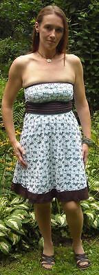 Eyelet Tube Dress - Teeze Me Cotton Lace Eyelet Tube Top Dress Size 3 Ships Free in the USA