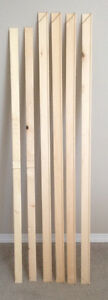 Gallery Stretcher Bars+inner bars for stretching Canvas, 5photos Edmonton Edmonton Area image 5