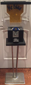Gumball Candy Machine by Beaver Mr Blue 4' Tall with Keys