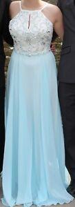 Blue Grad Dress