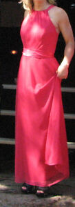 Designer Formal Dresses - Hot Pink-8; Green-10