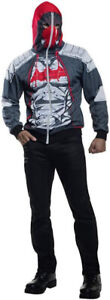 BATMAN Arkham Knight Red Hood Hoodie with Mask - Size Small - NE