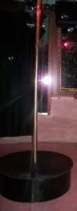 Brass Dance Pole with Base