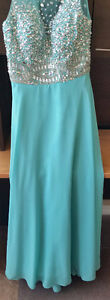 Gorgeous Prom Dress - Prom Girl - Mint color $100