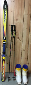 Skis, Boots,Poles