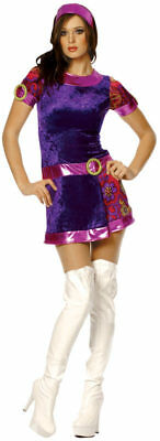 Funky Costumes (Sexy Disco Fever Hippie Groovy Go Go Mod 70s Funky Dancin Fox Costume Size)
