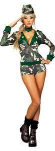Womens Army Girl Costume