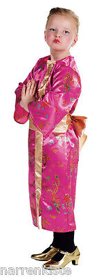 Sexy Geisha Japanerin Japan Chinesin Chinese Chinesen Kleid Kostüm Kimono - Geisha Kleid Kind Kostüm