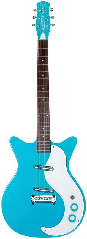 Danelectro DC59M-CBL New Old Stock Pickups - Baby Come Back Blue Electric Guitar