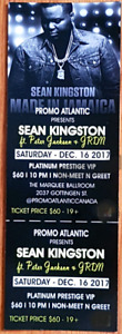 Sean Kingston Platinum tickets! SAVE $$$$