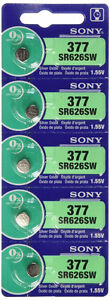 Watch Battery - Sony 373 sr916, 379 sr521, 377 sr626, 315 sr716