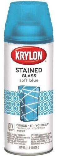 Stained Glass Paint 11.5oz-Soft Blue