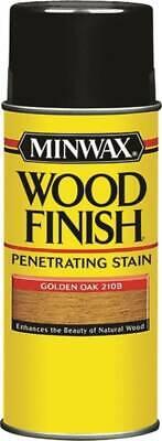 Minwax 32102000 Oil Based Wood Finish 11.5 oz SPRAY Golden OAK 6018535 Spray Wood Finish