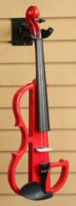 Electric Silent Violin Red