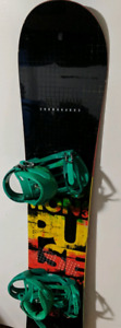 Solomon Snowboard with Bindings - Adult Size