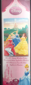 Disney® Princess Garden Window Poster - NEW