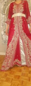 Caftan  marocain taille standard ,robe de soirée taille médium