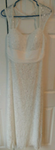 Lace Wedding Dress Size 12 -14