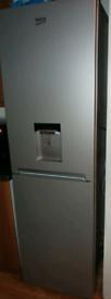 Silver beko water dispenser fridge freezer frost free