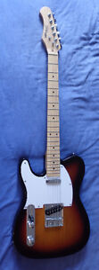 Stagg Left Handed Electric Guitar - Excellent Condition