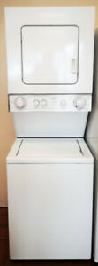 Whirlpool Heavy Duty Thin Twin Stackable Washer & Dryer