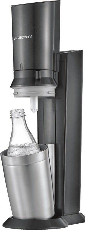Sodastream Crystal 2.0 Titan Wassersprudler Glasflasche NEU OVP MEDIMAX