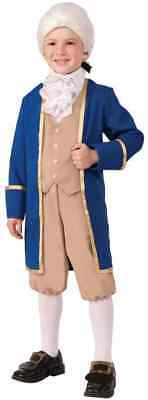 George Washington Founding Father President Fancy Dress Halloween Child Costume