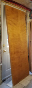 """Solid Wood Fire Rated Door Never Used 80""""X 30"""" X 1- 1/2"""""""