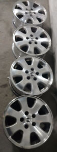 "Set of 16"" OEM alloy rims for Honda or Acura -- 5x114"