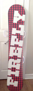 Mint Condition Snowboard and Equipment