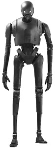 LIFE SIZE STAR WARS ROGUE ONE K2SO DROID STATUE