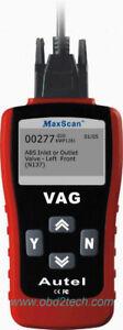 VW Audi Code Reader Maxiscan VAG405 & Generic OBD2 Code Reader 2