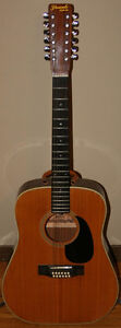 Yamaki Deluxe 12 String Acoustic Guitar Model 431 & Case