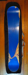 Rare 168 Blue Long Board from A-Snowboards
