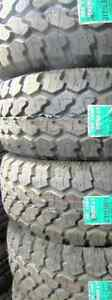 31X10.50R15 Unused Tires Pro Comp Xtreme A/T
