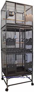 Cage Neuve d'elevage pour petit perroquet et pour chiens.