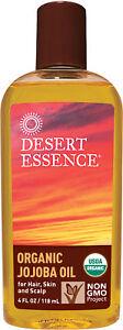 Organic Jojoba Oil, Desert Essence, 4 oz