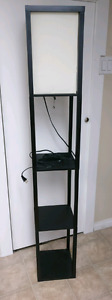 Lamp with shelves