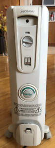 Oil-Filled Electric Heater Noma 1500W