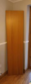 2 x IKEA Oak Veneer Pax Wardrobe Doors