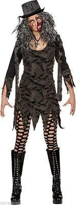Hexen Cape (Umhang mit Kaputze Cape Fetzen Kostüm Kleid Zombi Vampir Zombie Hexe Hexen Hut)
