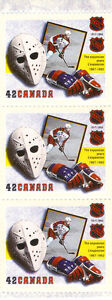Canada Stamps - NHL 1917-1992 The Expansion Years 1967-1992 42c West Island Greater Montréal image 1
