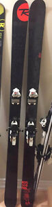 Brand New Rossignol Slat 181 Skis with Marker Squire Bindings