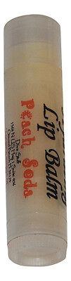 Best Formula Fun Flavored Lip Balm for Soft Lips by Diva Stuff (Peach