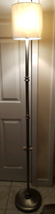 Tall Floor Lamp (with new lampshade)