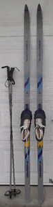 180 cm cross country skis package /ski de fond:
