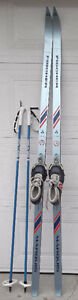 190 cm cross country skis package /ski de fond: